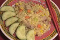How To Make Chinese Pork And Eggs Fried Rice
